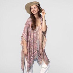 Tops - Women's paisley Kimono NEW